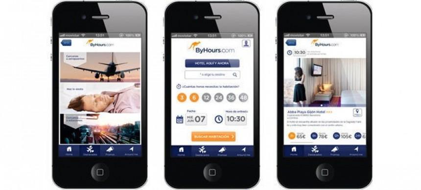 ByHours, app para reservar hoteles por hora