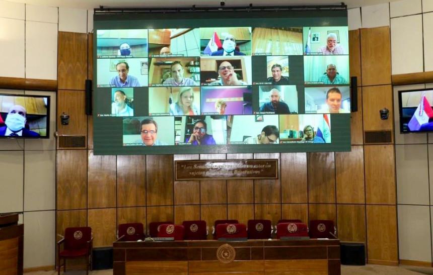 Senadores aprueban ley que establece régimen transitorio de aportación al IPS