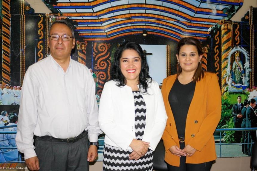 Carlos Bedoya, Sofia Montiel y Betria Arévalo
