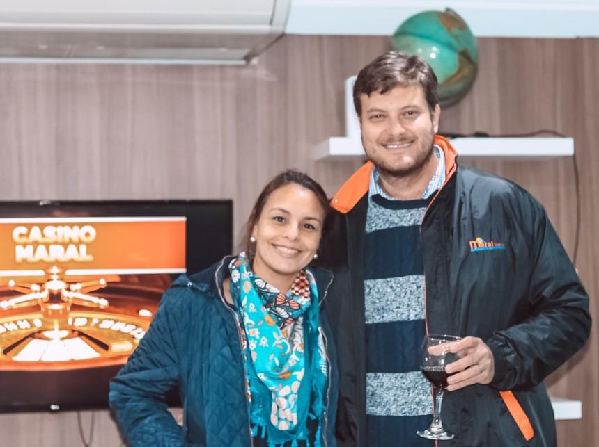 Andrea Mongelos y Jose Carlos Brunetti