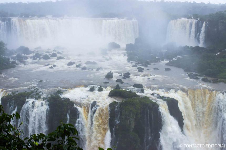 Imagen de las Cataratas del lado Brasileño
