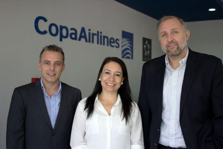 Christian Rodriguez, Rosa Gonzalez y Gustavo Esusy