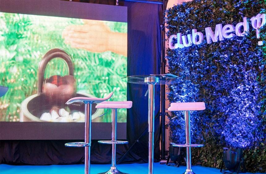 Stand del Club Med en el Asunción se Viste