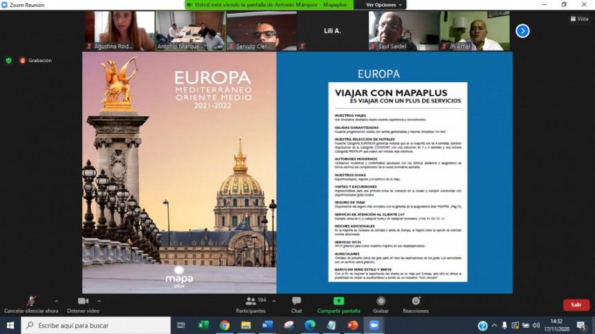 Mapaplus realizó su convención anual 2020