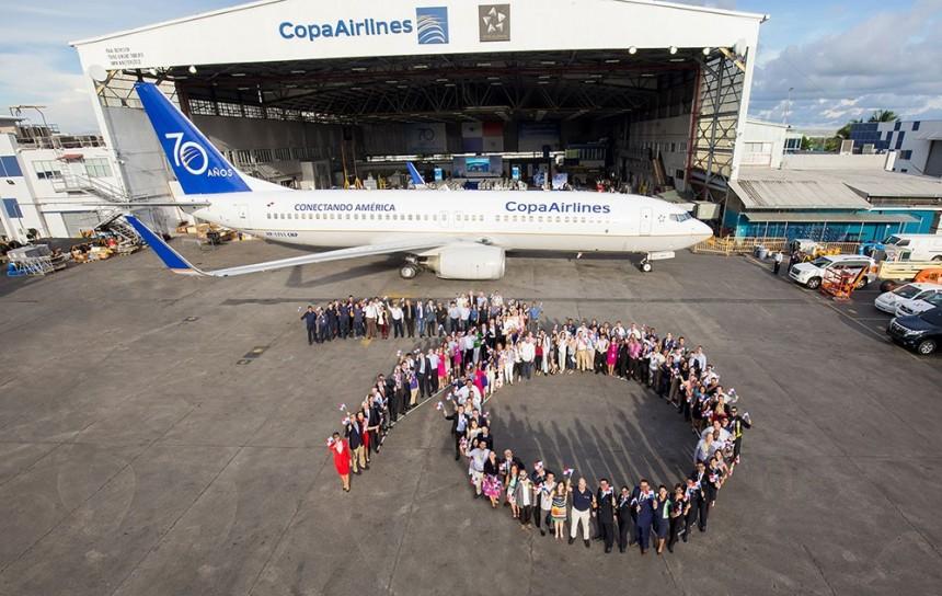 Copa Airlines cumple 70 años conectando América