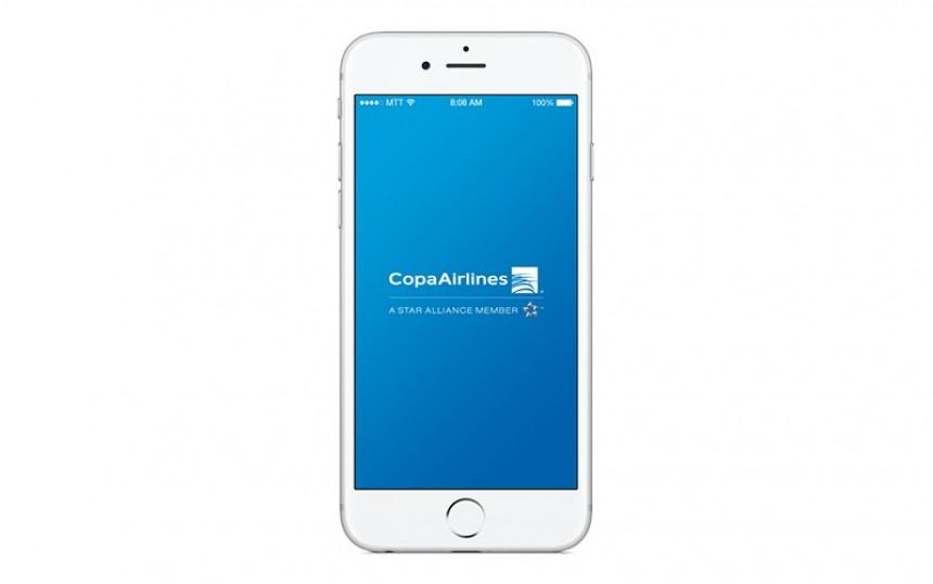 Versión renovada en aplicación móvil de Copa Airlines