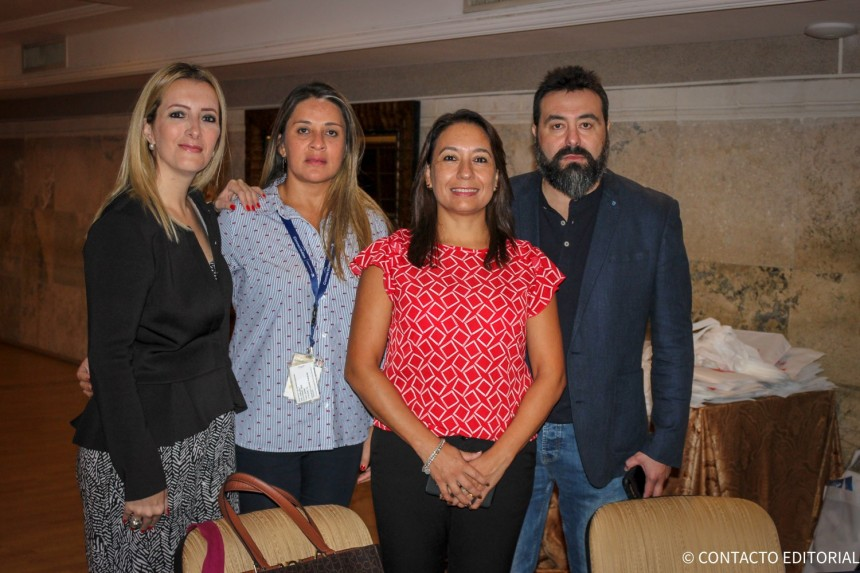 Carolina Cicerchia, Monica Zavan, Rosa Gonzalez y Alejandro Lezcano