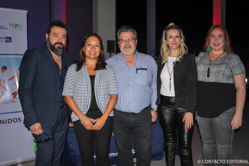 Alejandro Lezcano, Rosa Gonzalez, Luis Cardozo, Carolina Cicerchia y Gily Segovia