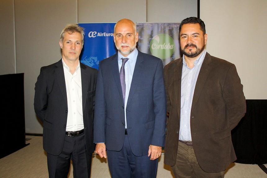 Alejandro Strumia, Julio Bañuelos y Olavi Linkola