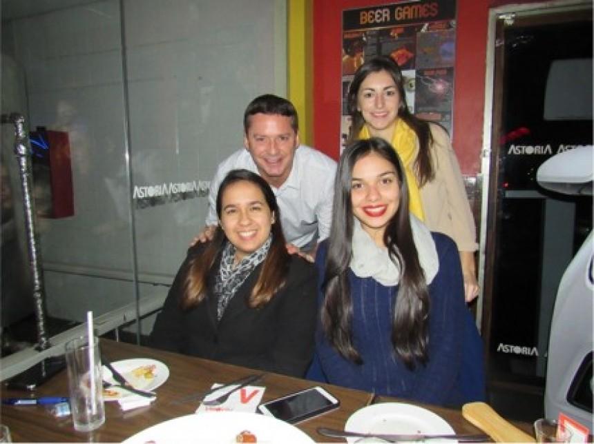 After office con los mejores vendedores de DTP Tour Operator