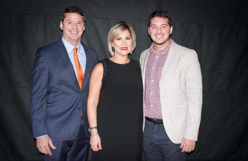 David, Sylvia y Joaquin Prono