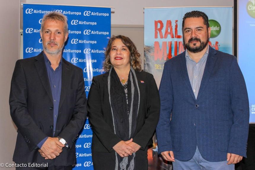 Alejandro Strumia, Andrea Belardinelli y Olavi Linkola