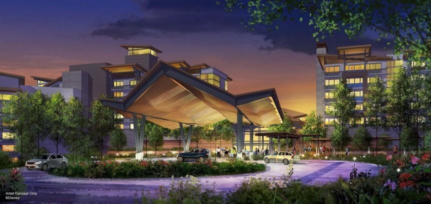 Imagen de lo que sería el frente del nuevo hotel
