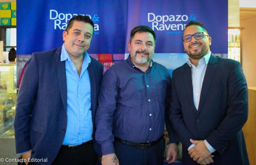 Jorge Ravenna, Hugo Dopazo y Guillermo Gordillo