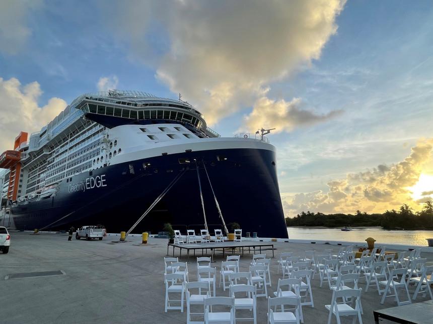 Royal Caribbean celebra el lanzamiento del primer crucero desde Estados Unidos