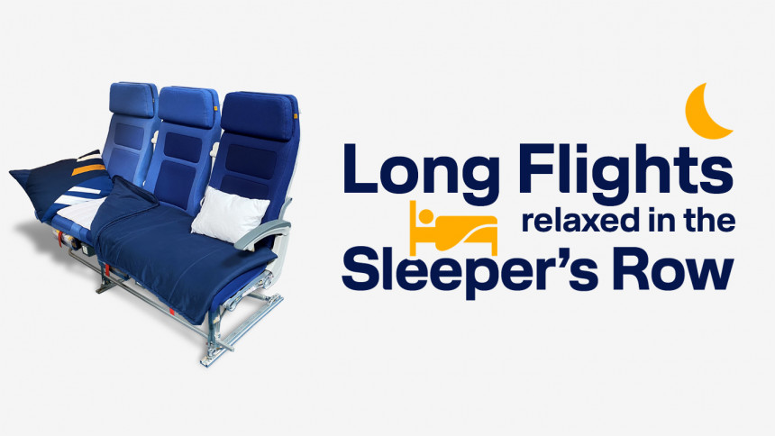 Lufthansa estrena su Sleeper's Row en los vuelos a São Paulo, Los Ángeles y Singapur