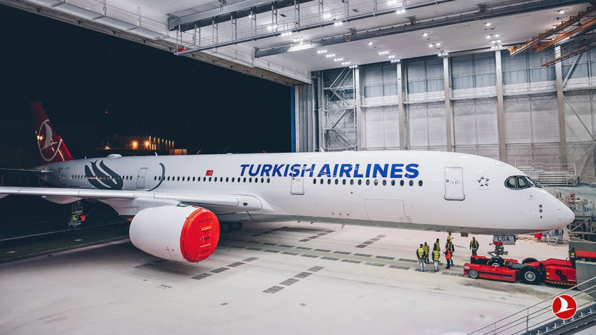 Turkish Airlines inicia operaciones con el nuevo Airbus A350-900 para la ruta Sao Paulo - Estambul