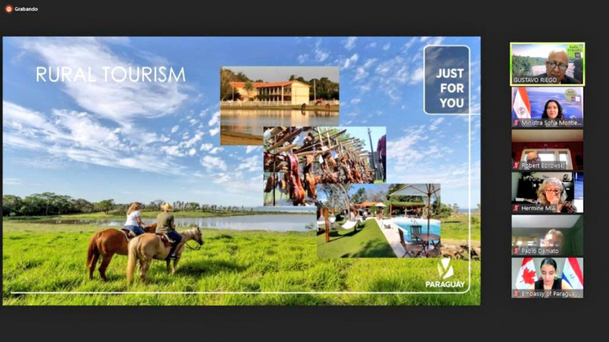"""""""Paraguay Just For You"""" fue presentada  a gremios turísticos de EE.UU y Canadá"""