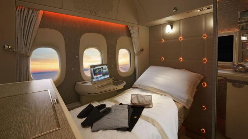 Emirates lanza nuevas suites privadas de lujo