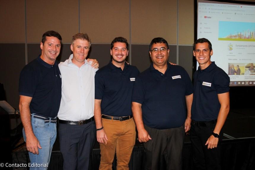David Prono, Lucas Ozuna, Joaquin Prono, Jorge Romero y Carlos Pavón