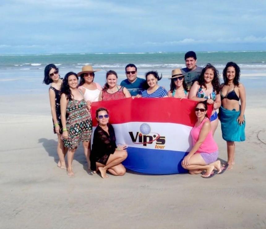 Destinos brasileños en fam tour de Vip's Tour