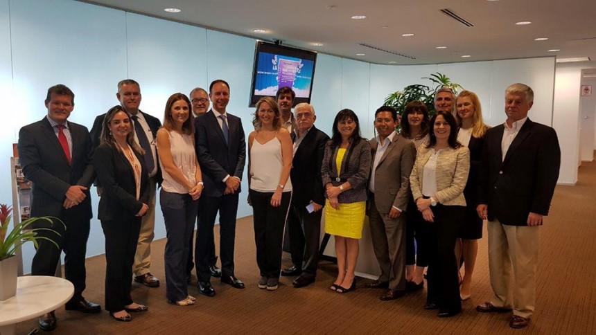 Representantes de Folatur se reunieron con altos ejecutivos de IATA