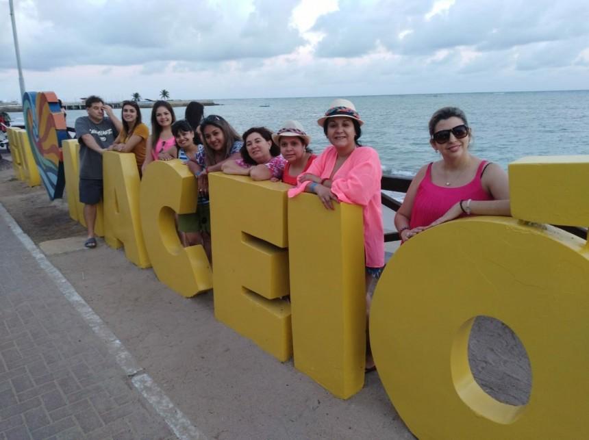 Grupo en la ciudad de Maceio