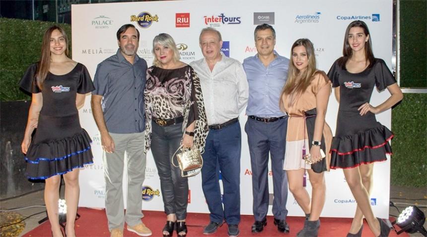 Alejandro Ocampos, Carolina y Miguel Martin, Nelson Ferreira y Sofia Martin