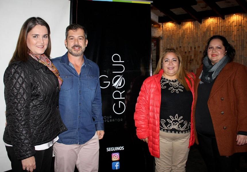 Vinicius Bonneli, con ejecutivos de la operadora