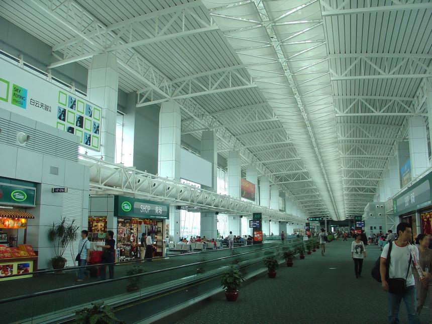El Aeropuerto Internacional Baiyun, en Cantón, China, es el más transitado del mundo