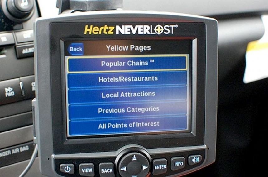 Hertz presenta innovador GPS de última generación