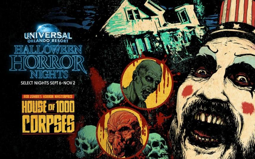 """Universal suma la """"""""Casa de los 1.000 Cuerpos"""" a sus Halloween Horror Nights"""
