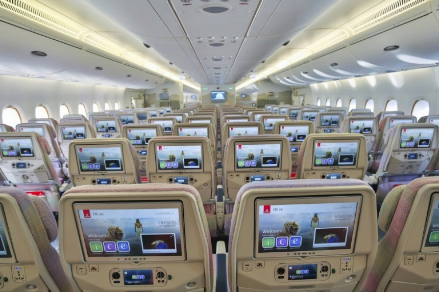 """Emirates recibe galardón por su sistema de entretenimiento a bordo """"ICE"""""""