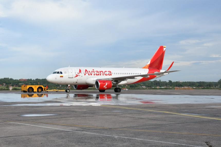 Avianca inauguró vuelos directos entre Asunción y Bogotá