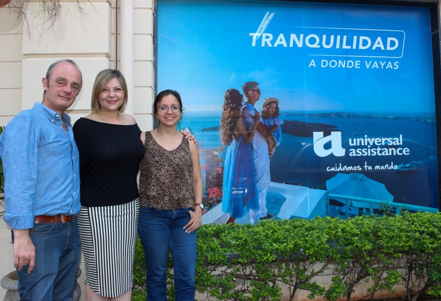 Guillermo Pontoriero, Fabrizia Harika y Claudia Cano
