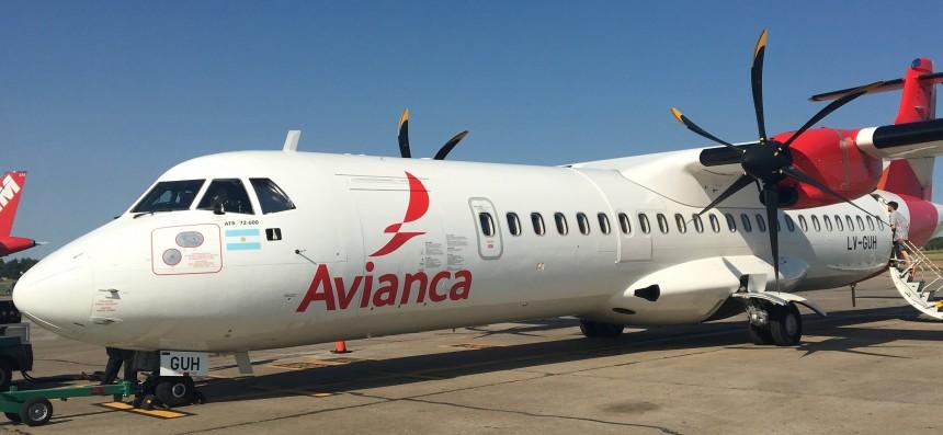 Avión de Avianca Argentina - Foto Rosario Vuela
