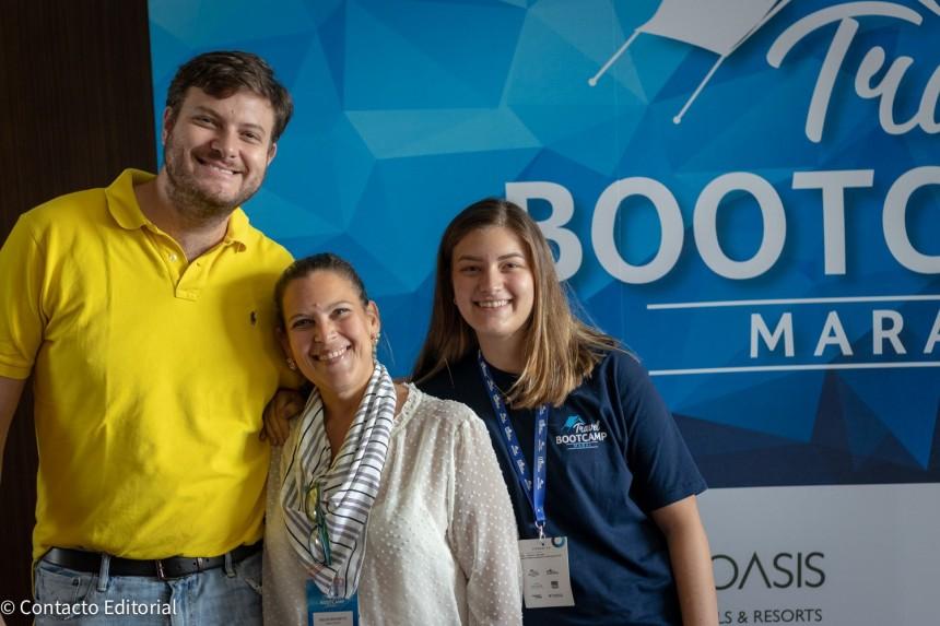 Jose Carlos, Belen y Ana Laura Brunetti