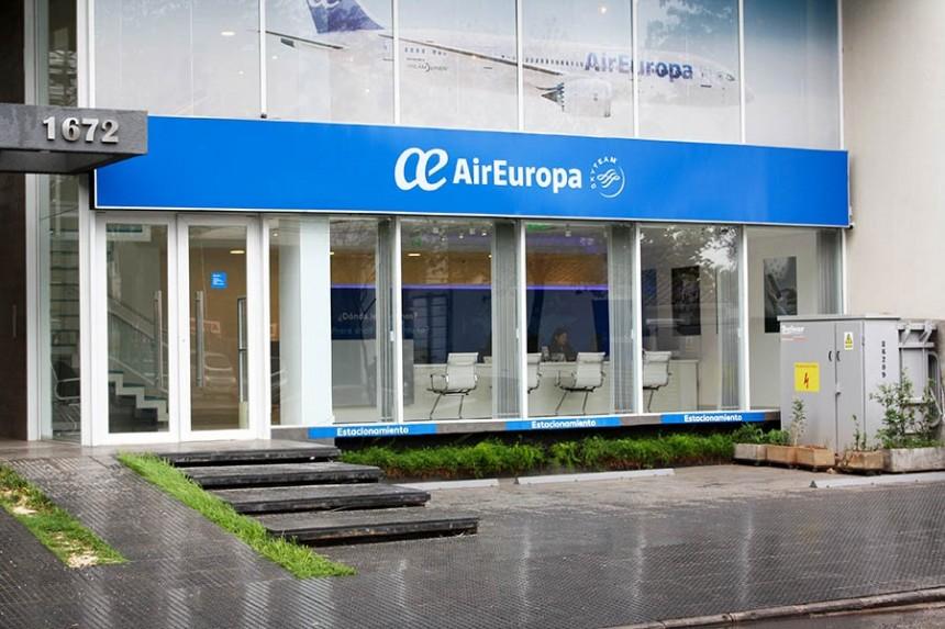 Oficinas de Air Europa reflejan su posicionamiento en el mercado