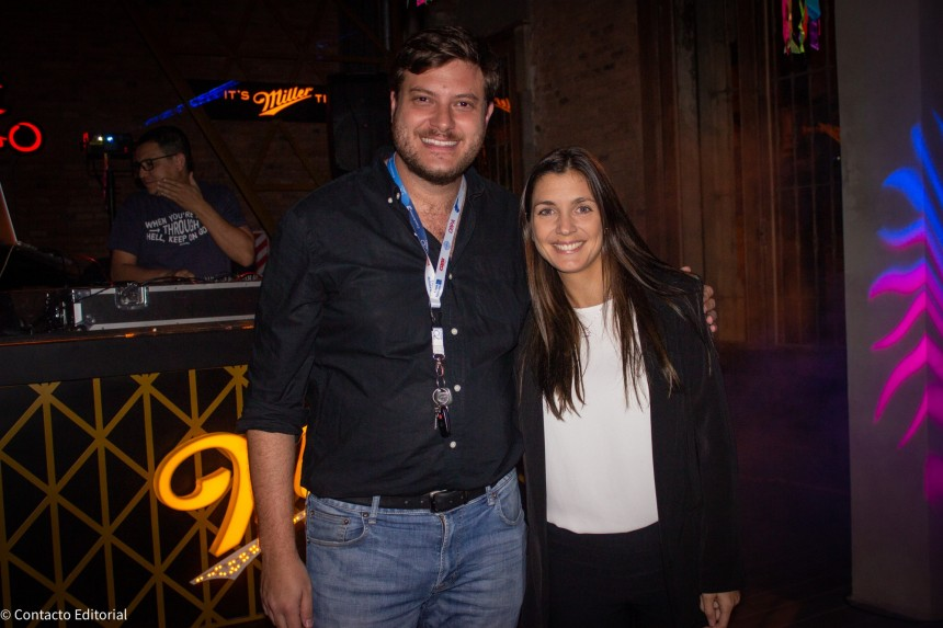 Jose Carlos Brunetti y Melisa Zupichiatti