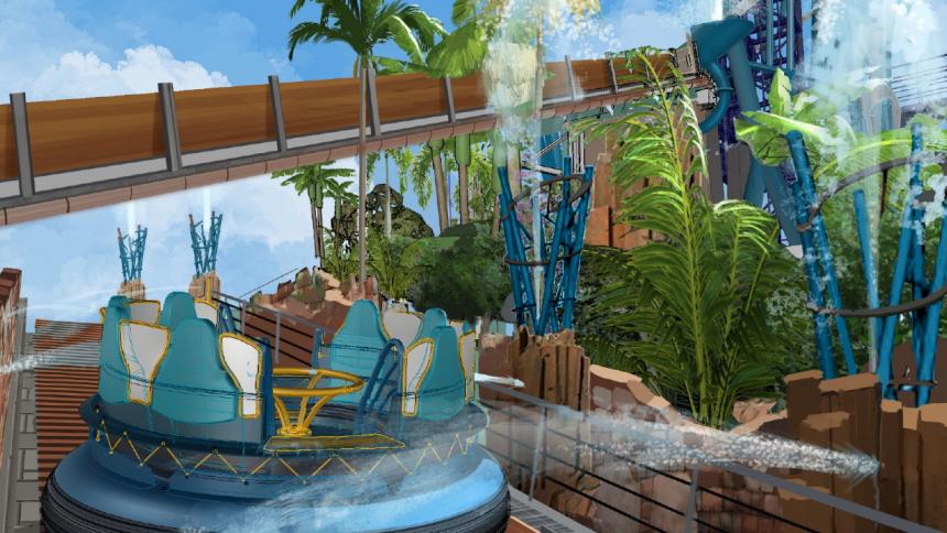 Infinity Falls  abre sus puertas en SeaWorld Orlando