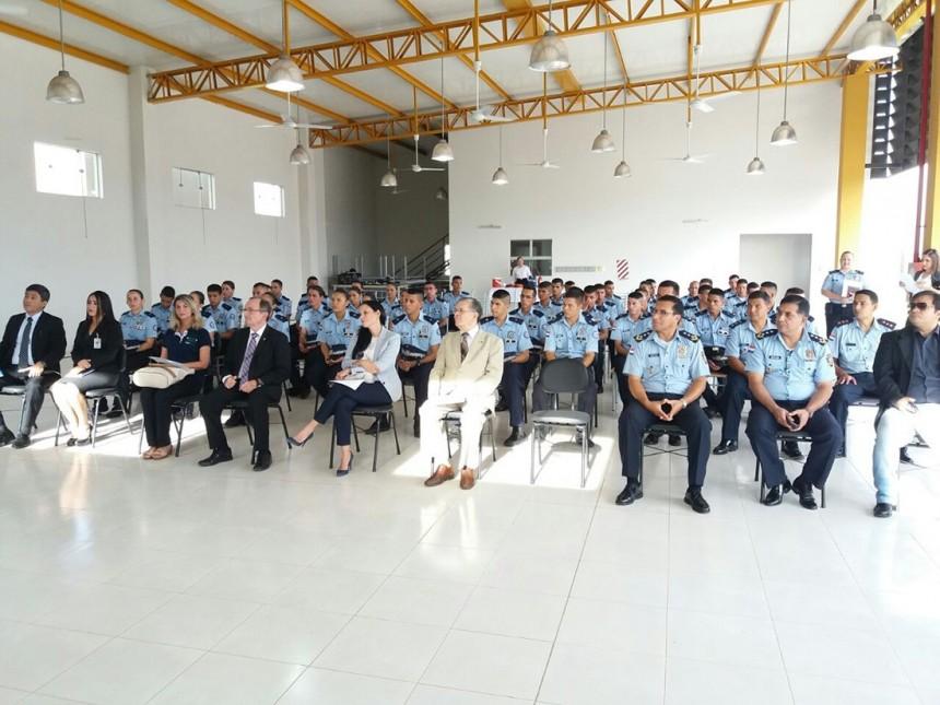 Inician pasantías futuros suboficiales de la policía urbana y turística