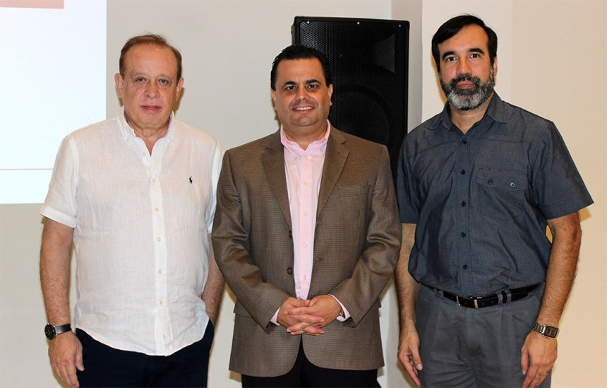 Miguel Martin, Gonzalo Moreira y Alejandro Ocampos