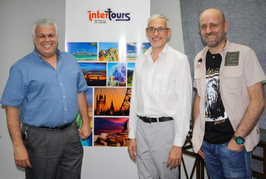 Alejandro Salza, Sergio Mussini Rocques y Roberto Beltrán de Guevara