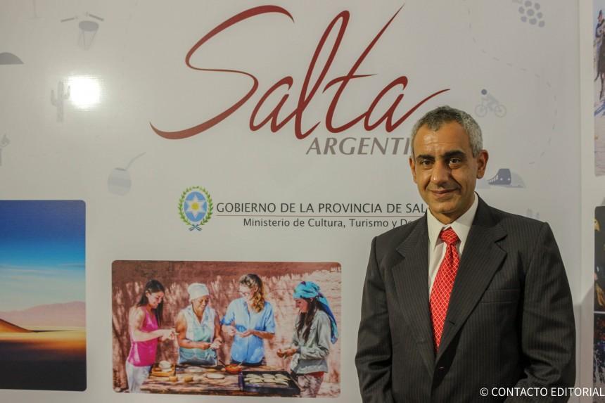 Jorge Mauger, coordinador general del Ministerio de Turismo, Cultura y Deportes de Salta
