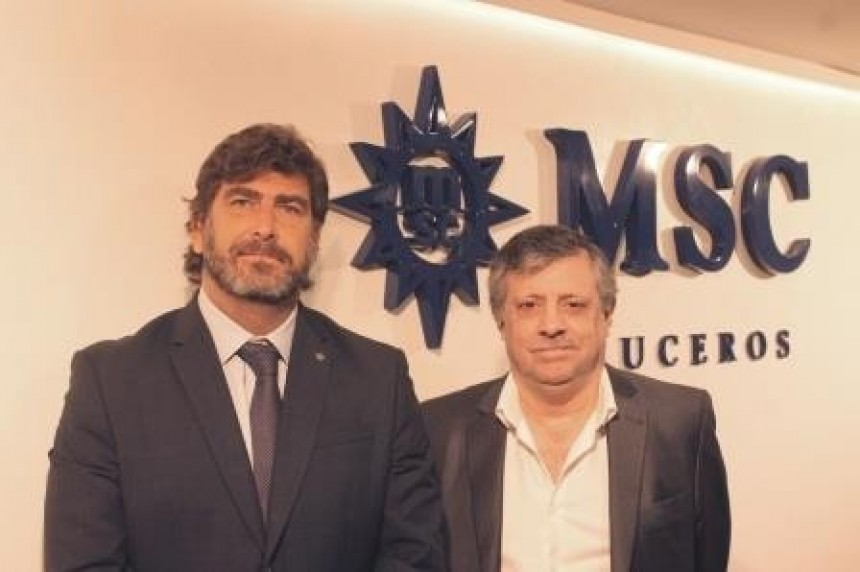 Javier Massignani y Pablo Laudonia