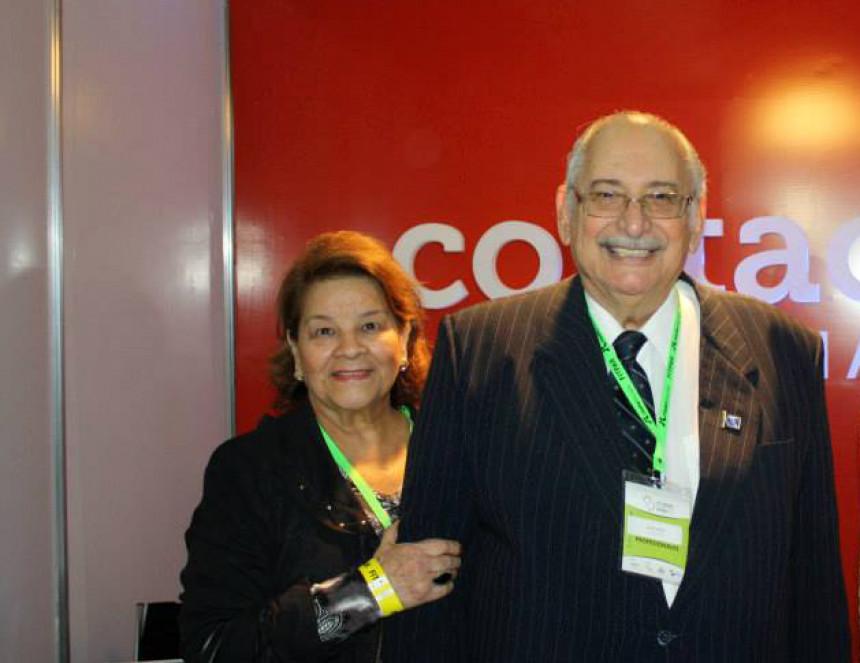 Juan Carlos Sabe y su esposa Nenucha Sabe