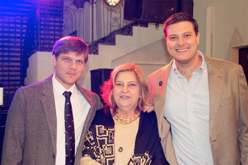 Juan Manuel Brunetti, Ofelia Marcos y Jose Carlos Brunetti