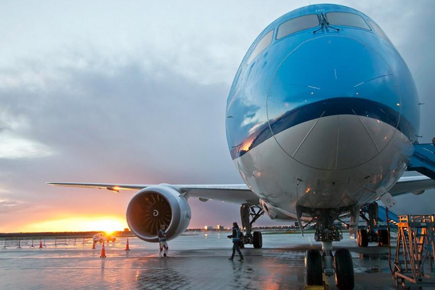 Avion de KLM