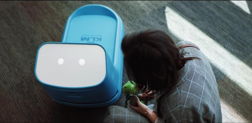 Care-E, el robot que utiliza inteligencia artificial de KLM