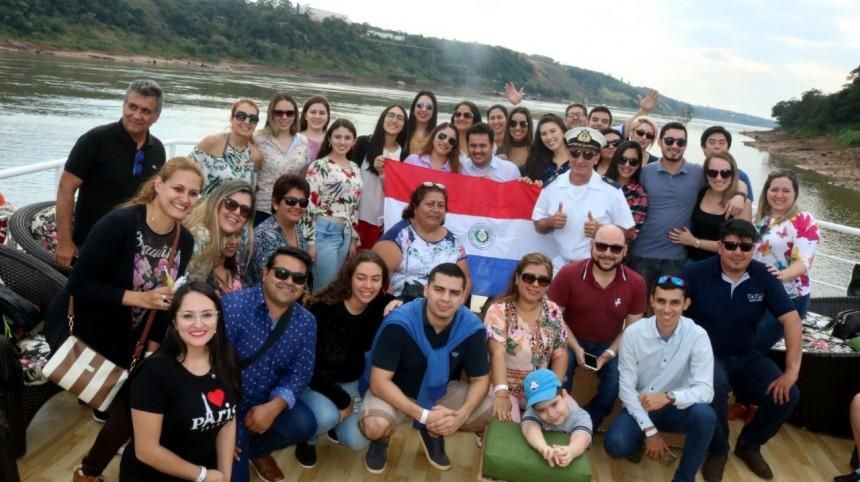 Mavani  promociona atractivos de la Triple Frontera